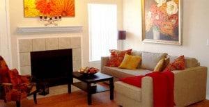 Marquis at Volente Apts living room