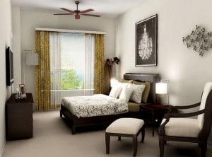 Spring at Tech Ridge bedroom