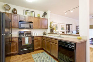 Ribelin ranch apartments kitchen