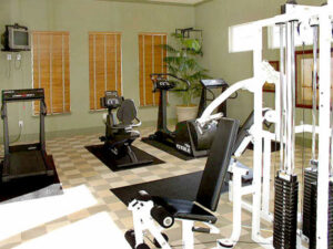 parkside apartments fitness area