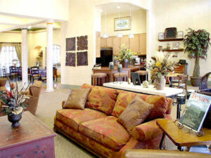 parkside apartments lobby