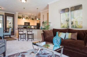Marquis at Canyon Ridge Apts Living area