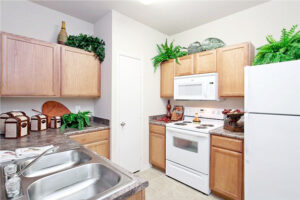 Elan Apartments Kitchen