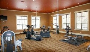 Elan Apartments gym