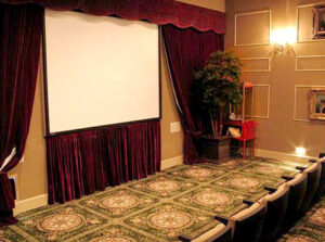 Mertiage at Steiner Ranch theater room