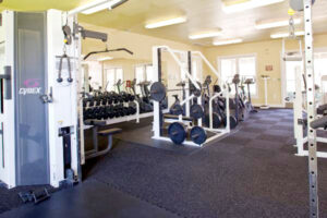 The Ranch Apartments gym