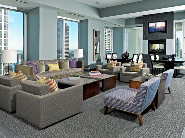 SkyHouse Austin Resident Lounge