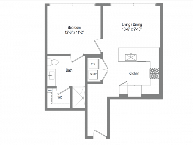 The Bowie A1 Floor Plan