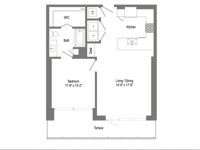 The Bowie A4 Floor Plan