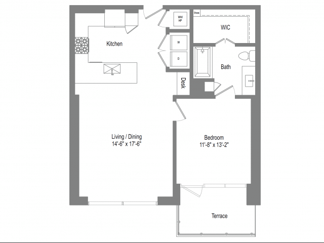 The Bowie A4b Floor Plan