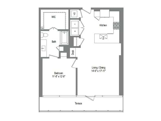 The Bowie A5 Floor Plan
