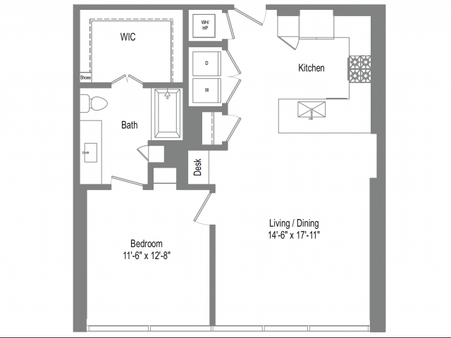 The Bowie A5b Floor Plan