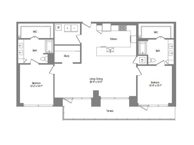 The Bowie B10 Floor Plan