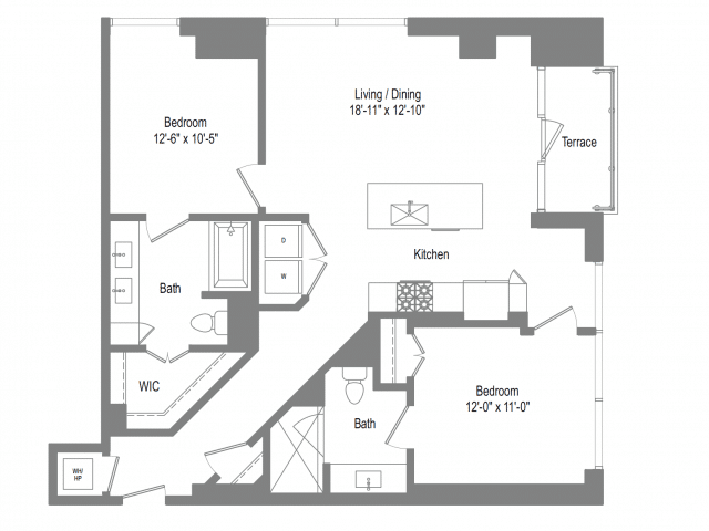 The Bowie B2 Floor Plan