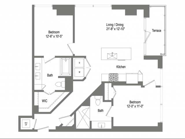 The Bowie B2c Floor Plan