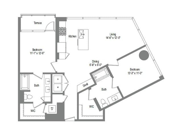 The Bowie B3 Floor Plan