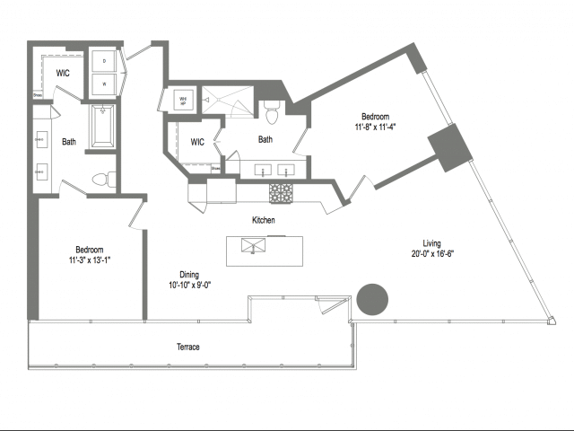 The Bowie B6 Floor Plan