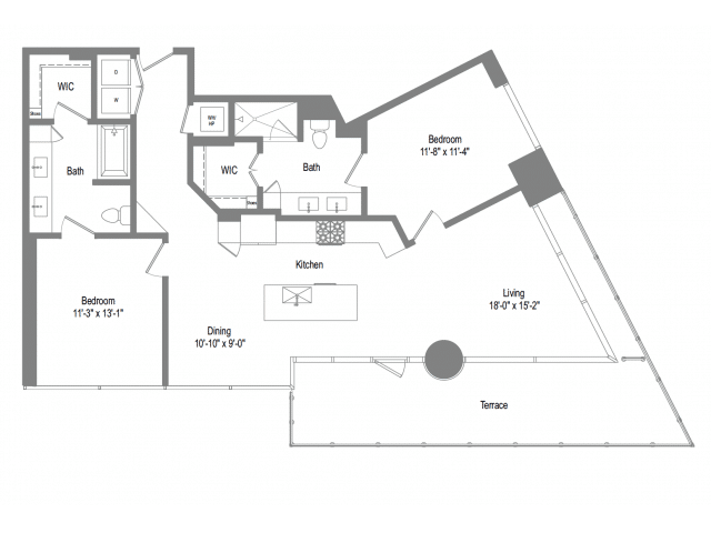 The Bowie B6b Floor plan