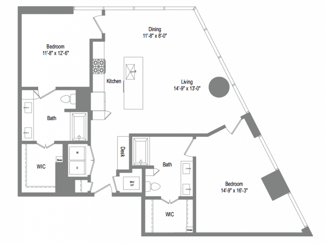 The Bowie B7 Floor Plan