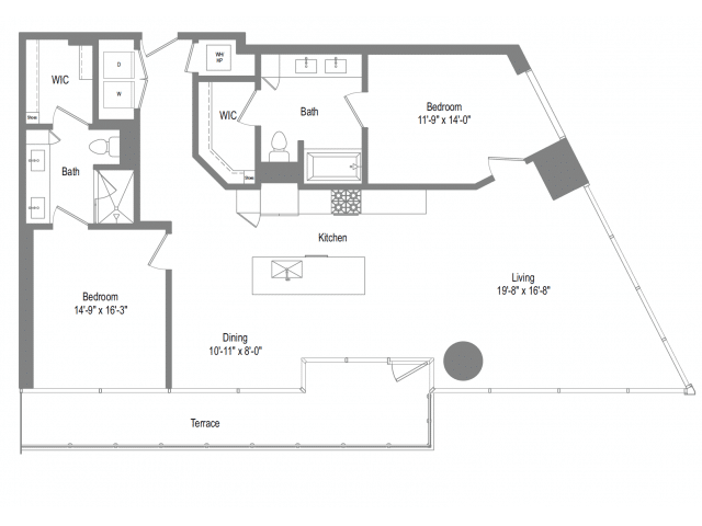 The Bowie B8 Floor Plan