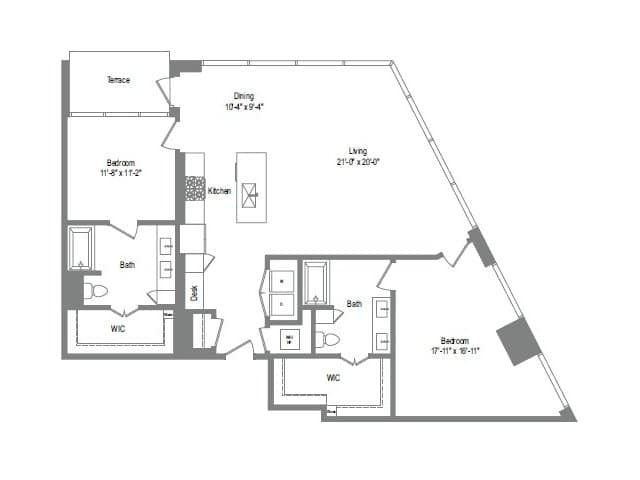The Bowie B9 Floor Plan
