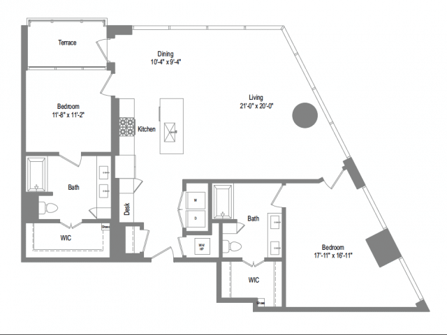 The Bowie B9b Floor Plan