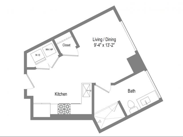 The Bowie S1 Floor Plan