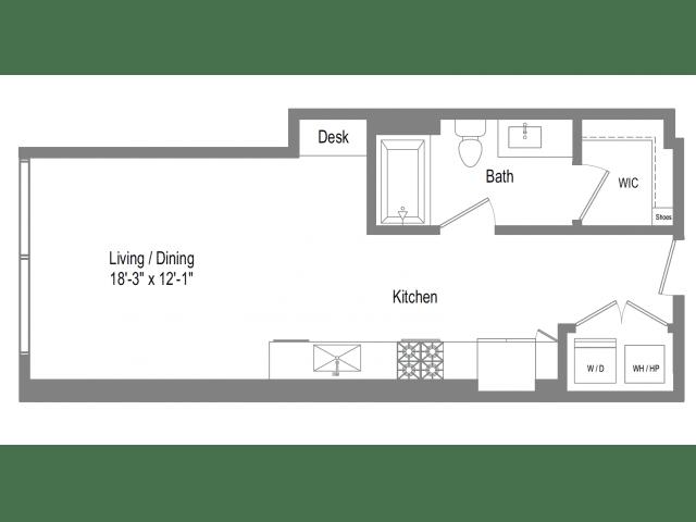 The Bowie S2 Floor Plan
