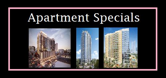austin apartment specials