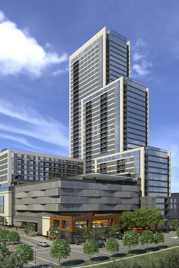 Construction Started A Few Months Ago On One Of Downtown Austin S Most Prestigious High Rise Apartment Buildings That Will Transform The Former Thomas C