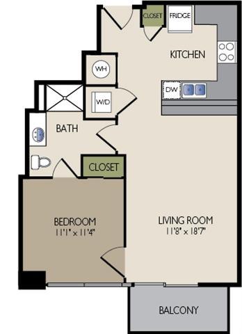 11F3 Floor Plan