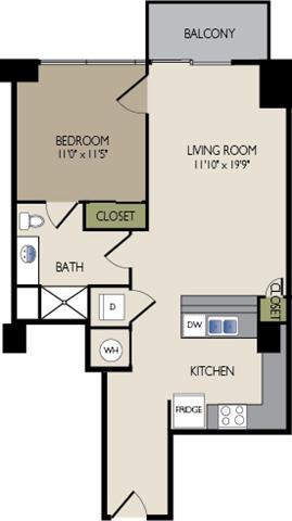 11F6 Floor Plan