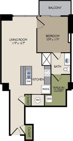 11F7 Floor Plan