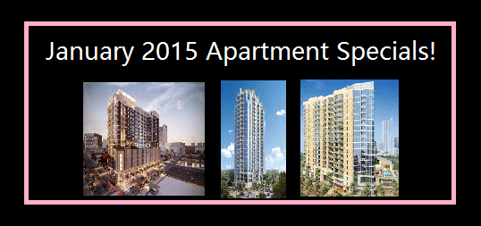 january 2015 austin luxury apartment specials