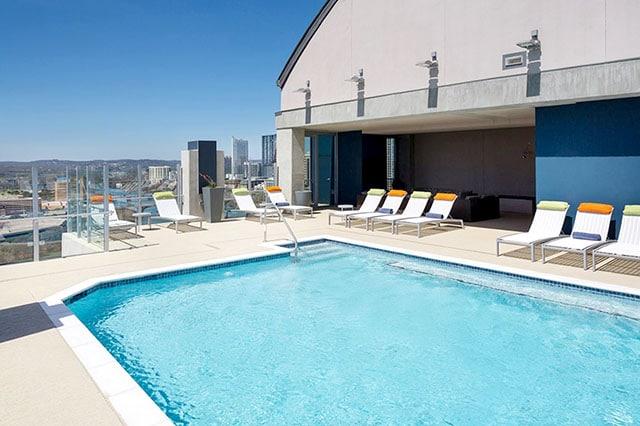 Skyhouse Austin Pool