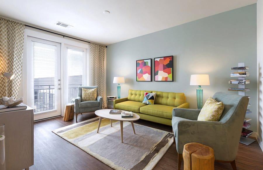Burnet Flats Apartment Room
