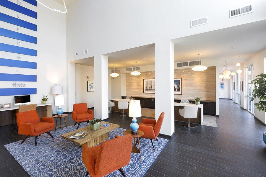 Burnet Flats Sitting Room